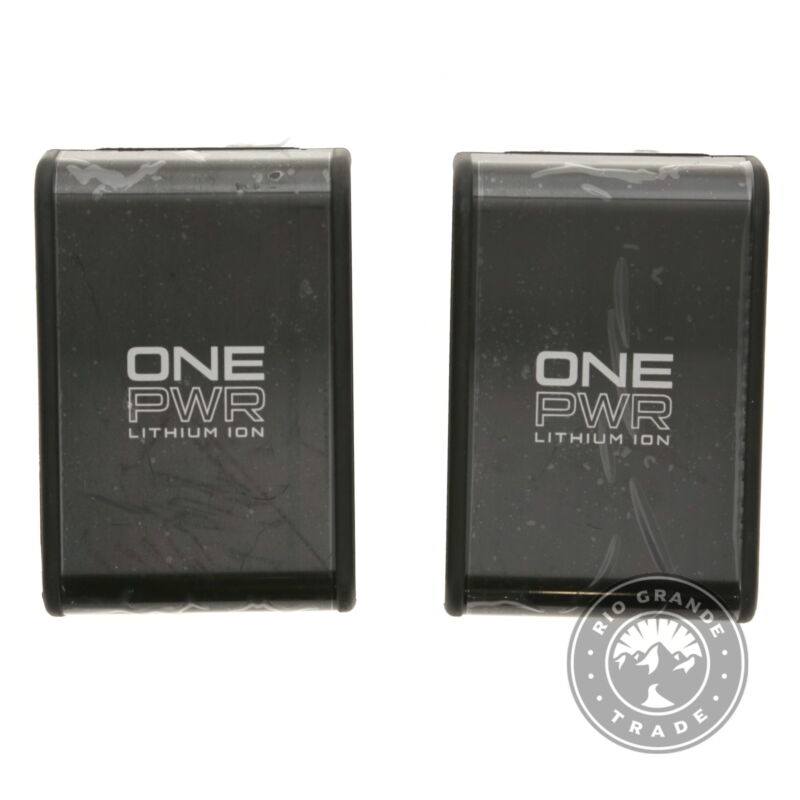 OPEN BOX Hoover BH15030PC2 ONEPWR 3.0 Ah Lithium Ion Battery in Black - 2 Pack
