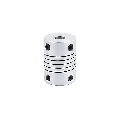 uxcell 6mm to 8mm Shaft Coupling 25mm Length 18mm Diameter S