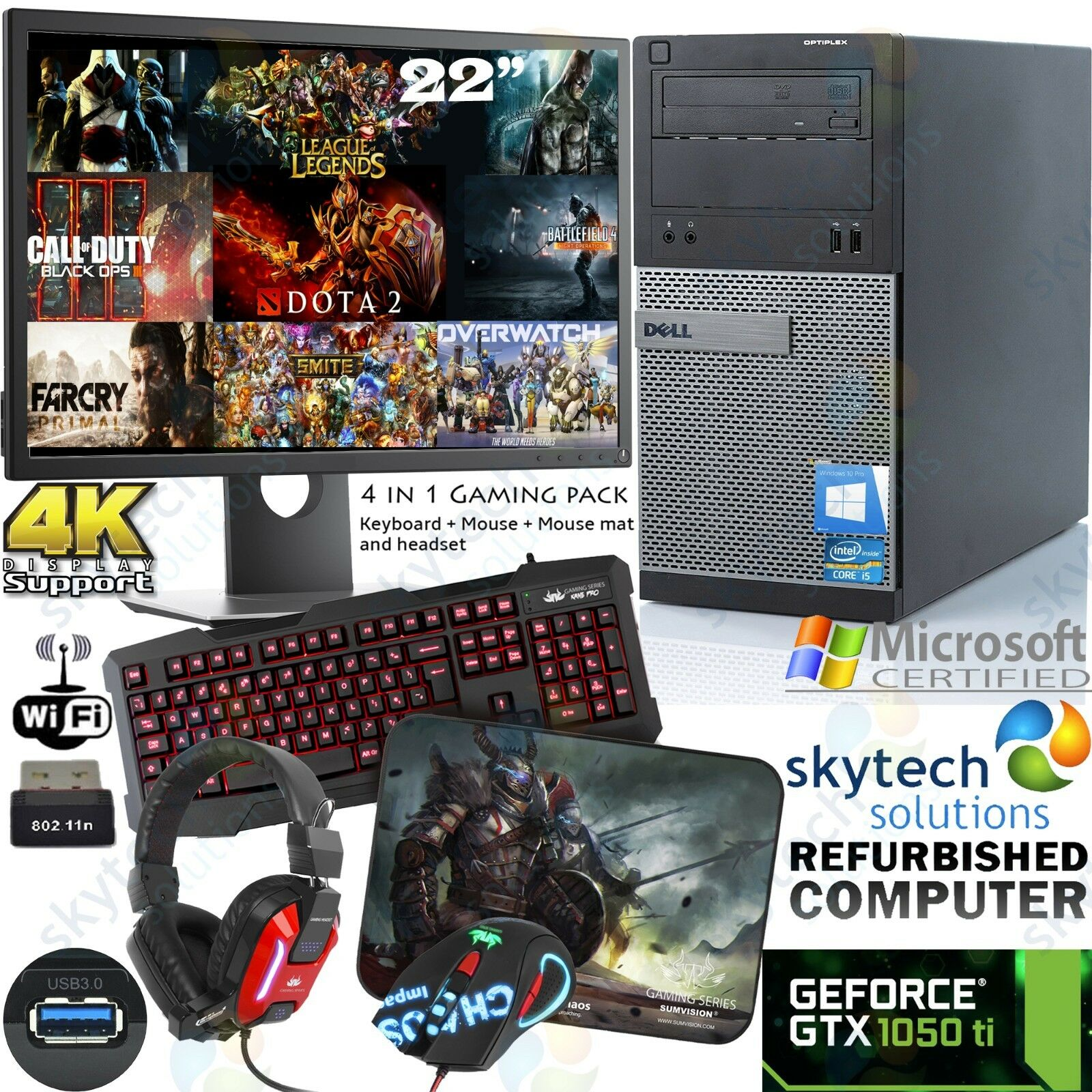 DELL Pc da gioco Intel i5 22 77bb176a26ab