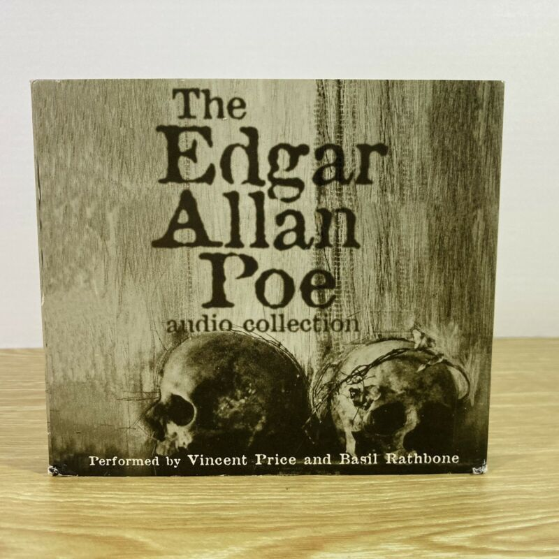 The Edgar Allan Poe Audio Collection 5 CDs - Vincent Price and Basil Rathbone