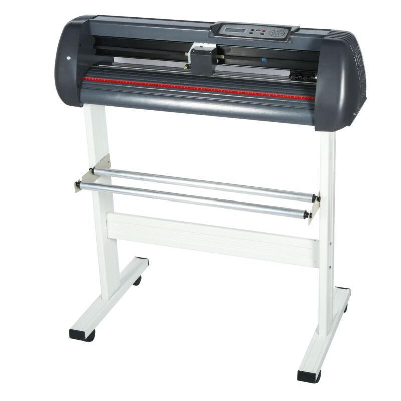 34 Inch Cutting Plotter Vinyl Cutter Machine for Advertisement, Signs