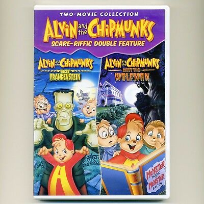 Alvin & Chipmunks 2 Halloween G kids' movies Meet Frankenstein, Wolfman, new DVD](Childrens Halloween Movies)