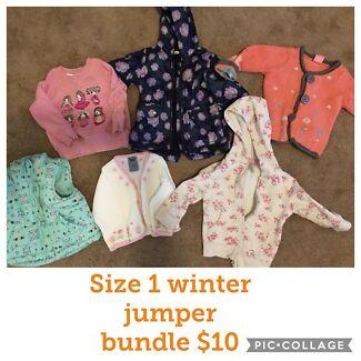 Size 1 girls bundle