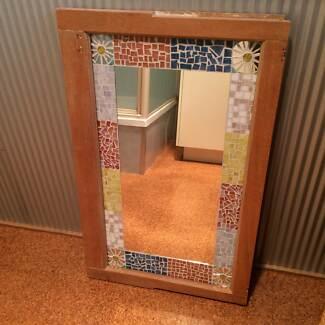 Silky Oak Mosaic Mirror Toowoomba 4350 Toowoomba City Preview