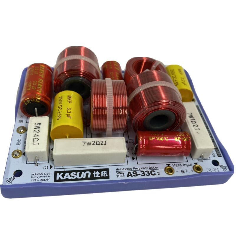 NEW FOR KASUN AS-33C-2 HiFi Speaker Frequency Divider Crossover Filters 3Way 160