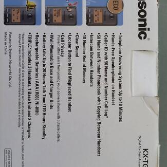 Panasonic Digital cordless home phone system answering machine