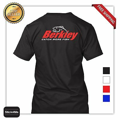 - BERKLEY Fishing Logo Crankbaits T-SHIRT HQ FISHING T-SHIRT FRONT&BACK S-3XL