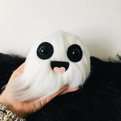 BABY BOO MINI GHOST PLUSH TOY HALLOWEEN DECOR KAWAII GHOST PASTEL GOTH CREEPY  ()