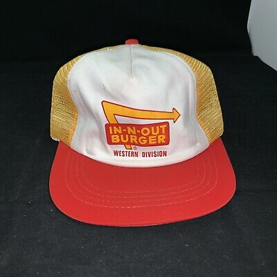 NEW Vintage IN N OUT Hat 70s 80s Burger Fast Food Fashion Punk Rock Band - 80s Punk Rock Fashion