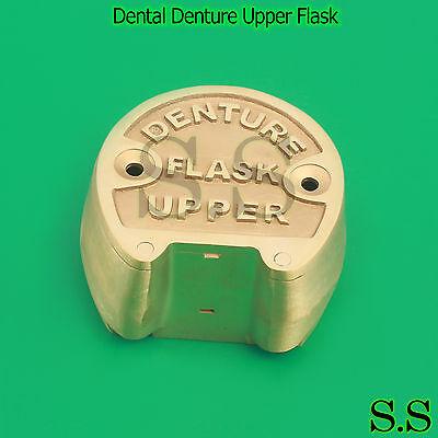1 Premium Original Brass Dental Denture Upper Flask New Lab Professional Dn-361
