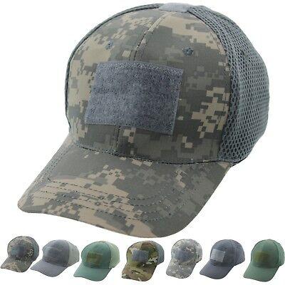 3 Pack Tactical Operator Cap Adjustable Hook & Loop Military Patch Baseball Hat](Pack Hat)