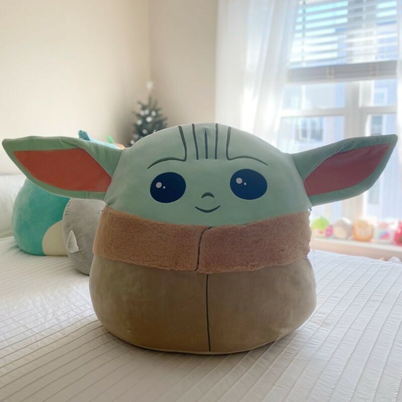 Squishmallow 20 in Star Wars The Child / Baby Yoda Kellytoy