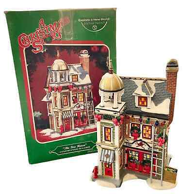Department 56 A Christmas Story The Fire House Lighted Building FAIR Village