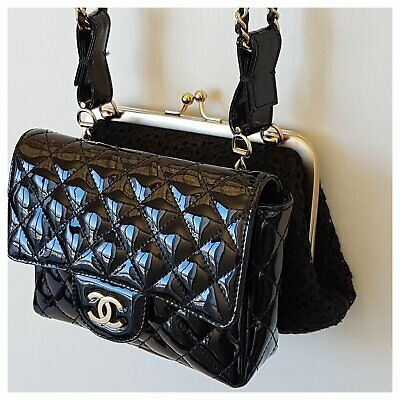 100% Authentic Chanel  Women's Bag Limited Edition  2 IN 1