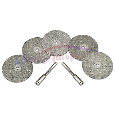 5pcs 35mm Diamond Replacemant Wheels For Tungsten Grindersharpener Rotary Tool
