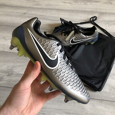 NIKE MAGISTA OPUS SG-PRO PEWTER FOOTBALL BOOTS SIZE UK6/US7/EUR40 649230-010