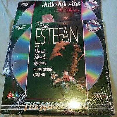 GLORIA ESTEFAN & Miami Sound Machine Laserdisc Homecoming Concert LD