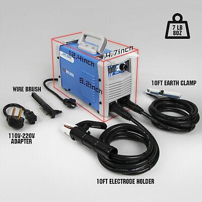 Stick Welding Machine Dc Inverter Dual Voltage 110220v Igbt Arc Welder 125a