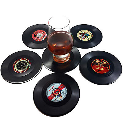 Vinyl Drink Holder (Creative Vinyl Record Cup Drinks Coaster Holder Mat Home Placemat)