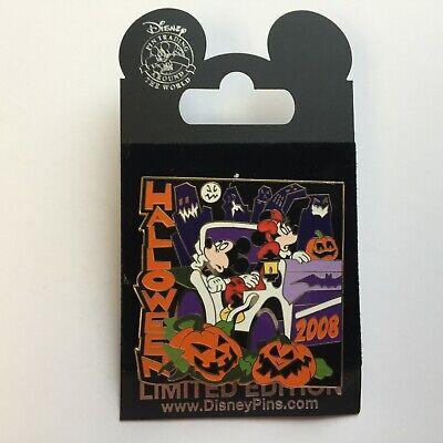 World of Disney ® Store New York Halloween 2008 Mickey LE 1000 Disney Pin 65532 - Halloween Store Ny