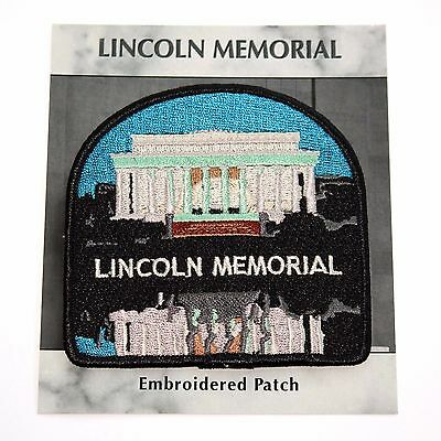 Lincoln National Memorial Souvenir Patch Washington D C  Dc Park Monument Nps