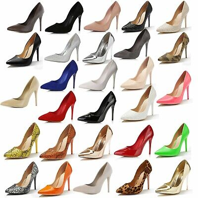 DailyShoes Women Stiletto High Heels Dress Comfort Office Lady Pointed Toe Shoes Dress High Heel Shoes