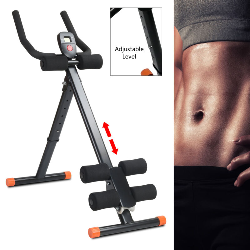 Ab Coaster Abdominal Core Trainer Machine Cruncher Body Fitness Exercise Workout