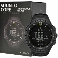 Suunto Core All Black Outdoor Watch with Altimeter Barometer Compass SS014279010