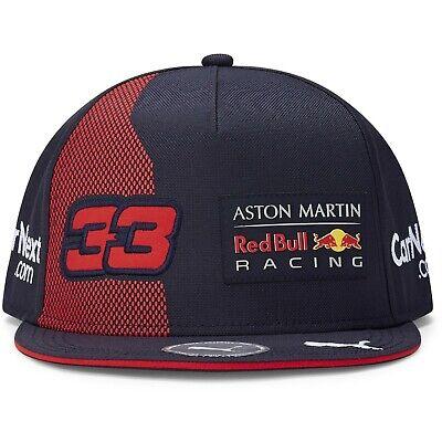 Red Bull Racing F1 2020 Team KIDS Max Verstappen Flatbrim Hat Navy