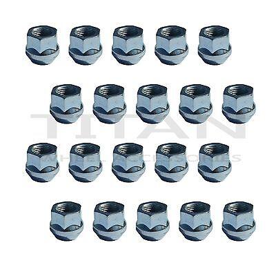 20 Piece Open End Bulge Acorn Lug Nuts | Wheel Nuts | 3/4