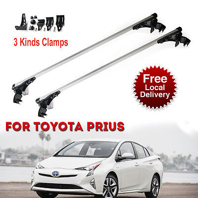 Aluminum Car Roof Bar Crossbar Rack Luggage Carrier For Toyota Prius 07 - 2017