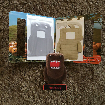 Domo Kun Rare Collectible Halloween Dress Up Sticker Target Gift Card](Domo Halloween)