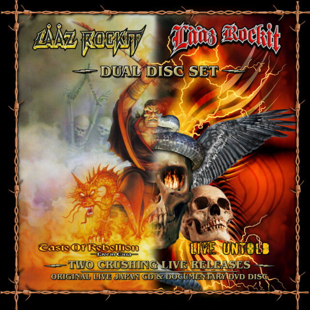 LAAZ ROCKIT Taste of rebellion + Live untold CD+DVD ( 200670 )