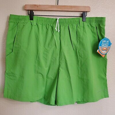 "NWT Columbia PFG Backcast III Size XXL 2XL / 6"" Men's Water Shorts Spring Green"