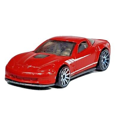 HOT WHEELS '09 Corvette ZR1 Red Car 60th Series Chevy 2013 Malaysia Loose