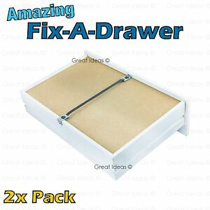 Fix A Drawer X 2 Repair Sagging Bedroom Chest Of Drawers