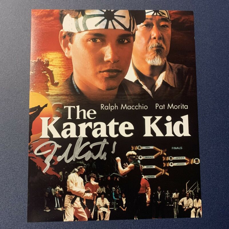 BILL CONTI HAND SIGNED 8x10 PHOTO AUTOGRAPHED KARATE KID MOVIE COMPOSER COA