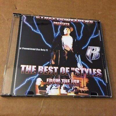 DJ KAYSLAY Best of Styles P RARE NYC Streetsweepers D-Block LOX Mixtape CD (Best Of D Block)