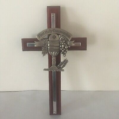 Pewter Communion Cross - First Holy Communion Cross 7