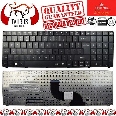 New For Packard Bell  Easynote NEW90 NEW95 PEW92 Series Laptop Black UK Keyboard for sale  Shipping to Ireland
