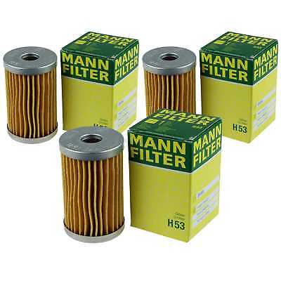 3 x Mann-Filter Glass Isar Estate for BMW 600 111 0.6 700 - Cheap Glass Containers