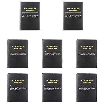0201 0805 1206 0402 0603 1 Smd Smt Chip Resistor 170 Values Sample Book Diy