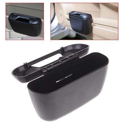 Mini Vehicle Auto Car Garbage Dust Case Holder Box Bin Trash Rubbish Can Black