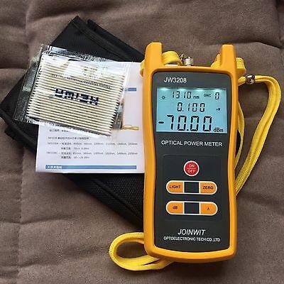 Handheld Optical Power Meter Jw3208a Laser Fiber Optic Tool Tester -70 To 6dbm