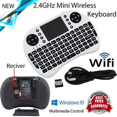 Mini Wireless Remote Keyboard Mouse for Samsung LG Smart TV Android Kodi TV (Wireless Keyboard And Mouse For Samsung Tv)
