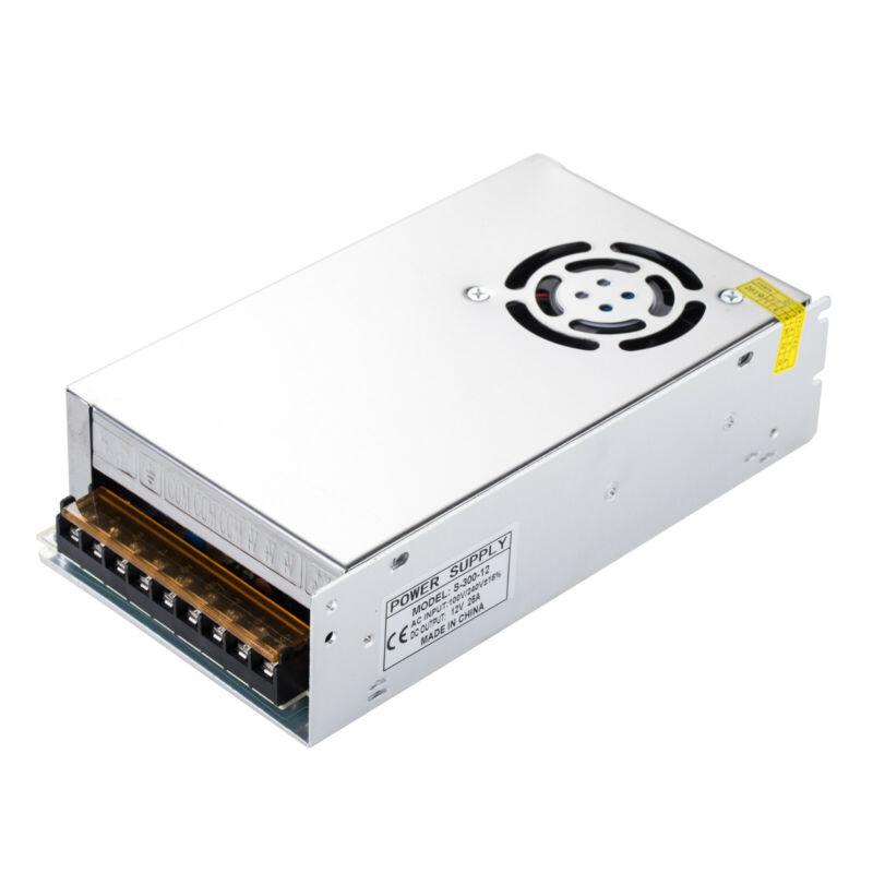 AC110-220V to DC 12V 25A 300W Transformer Regulate Switch Power Supply Converter
