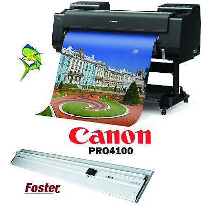 Canon Pro-4100 44 12-color Printer Foster 60 Sabre 2 Cutter
