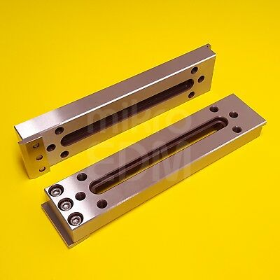 Wire Edm Fixture Board Stainless Jig Tool For Clamping And Leveling 220x50x20 Mm
