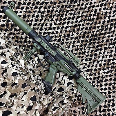 NEW Tippmann Cronus Paintball Gun - Tactical Edition - Olive/Black (T141007)