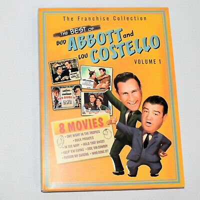 The Best of Abbott and Costello Volume 1 Full Screen DVD 8 Movies on 2 (Best Screen Movies)